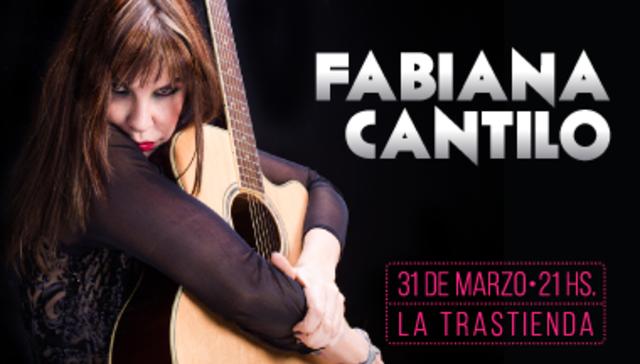 Fabiana Cantilo en La Trastienda
