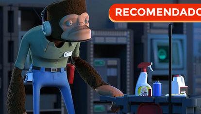 Corto animado: Monos espaciales