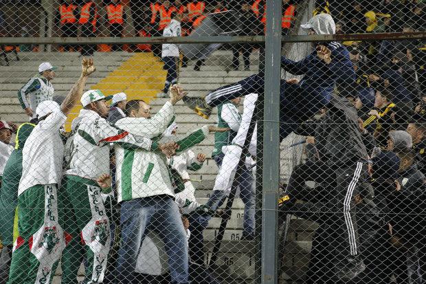 Otra de las imágenes del lío. Foto: EFE l Raúl Martínez