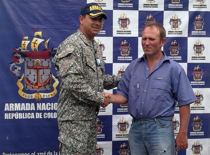Un ruso fue hallado en playa de Chocó y llevado a Buenaventura