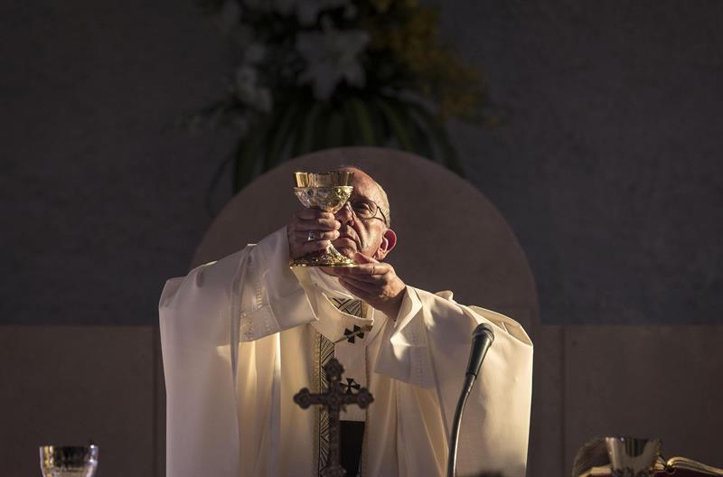 No sé qué cosa tiene Maduro en la cabeza: papa Francisco