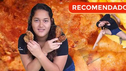 Chicas de verdad y pollo frito