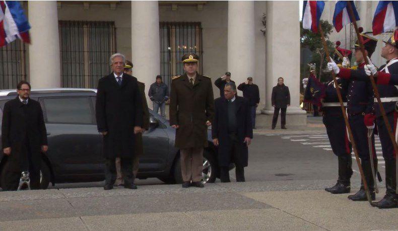 Presidente Vázquez anunció rebaja del gasoil