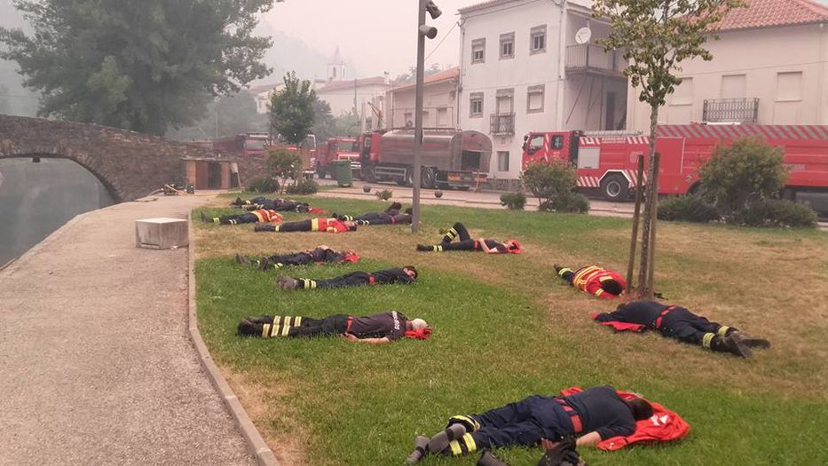 COLOMBIA: Gigantesco incendio en Portugal sigue cobrando vidas