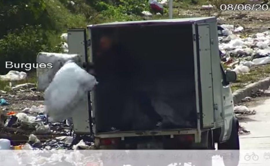 IM detectó 1.000 personas arrojando basura en forma ilegal