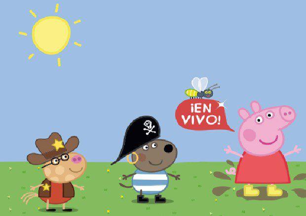 peppa pig regresa uruguay con el show estreno jugando a On espectaculo peppa pig uruguay