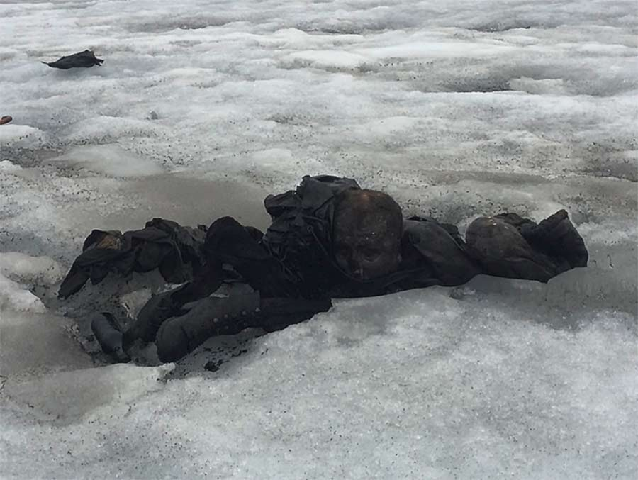 Resultado de imagen para suiza cadaveres glaciares