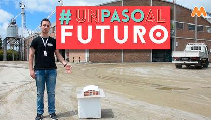 Los jóvenes de Tarariras aprenden sobre las obras del Ing. Eladio Dieste en su localidad.
