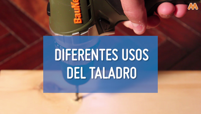 Diferentes usos del taladro