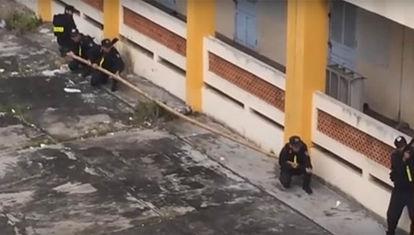 La policía de Vietnam