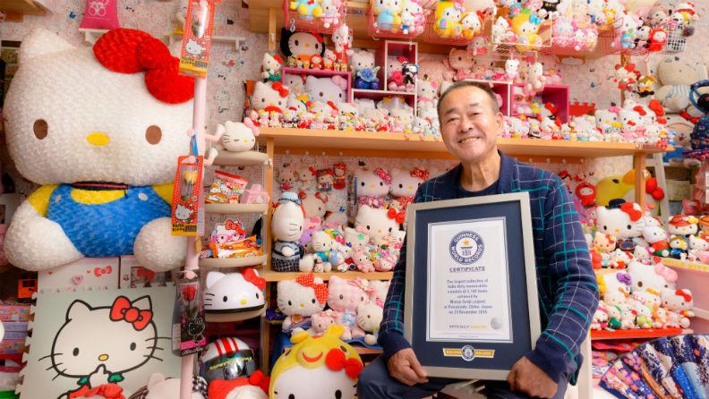 Resultado de imagen para La colección Hello Kitty más grande del mundo pertenece a un expolicía