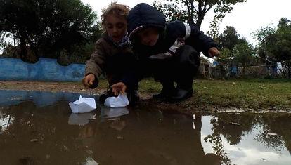 Los Carakoles quedan encerrados en la casa rodante tres semanas bajo lluvia
