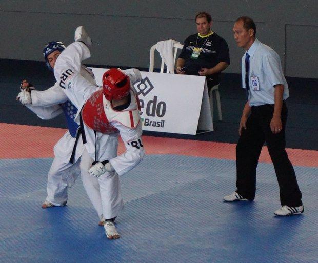Federico González en acción. Foto: Prensa FUT