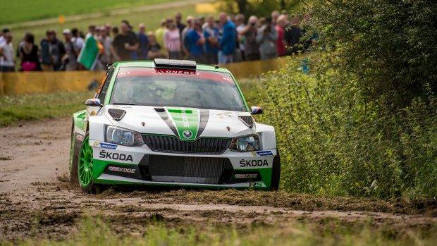 Jan Kopecky en el rally de Alemania (Foto: WRC)