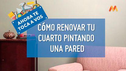 Cómo renovar tu cuarto pintando una pared