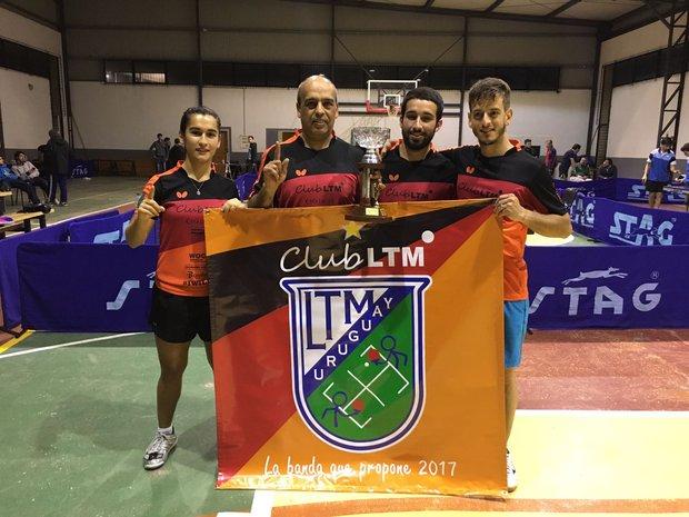 El equipo de Lorenzotti tenis de mesa campeón