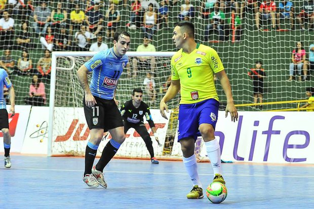 Uruguay cayó con Brasil 1-0 en Uberaba. Foto: Prensa CBF