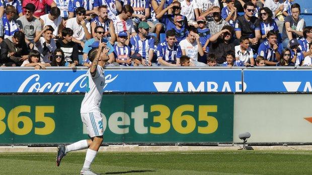 Dani Ceballos el autor de los dos goles del Real Madrid. Foto: EFE l David Aguilar