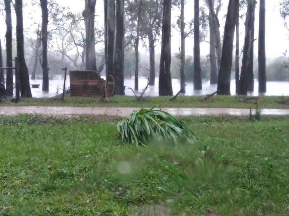 Más de 400 personas desplazadas en Uruguay a causa de las lluvias
