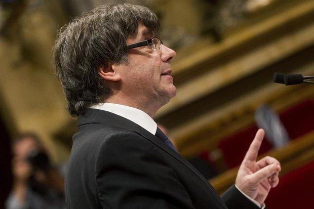 Carles Puigdemont. Foto: EFE   Quique García