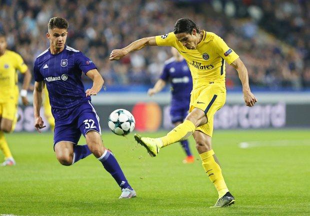 Edinson Cavani buscará más goles en Francia. Foto: EFE l Julien Warnand