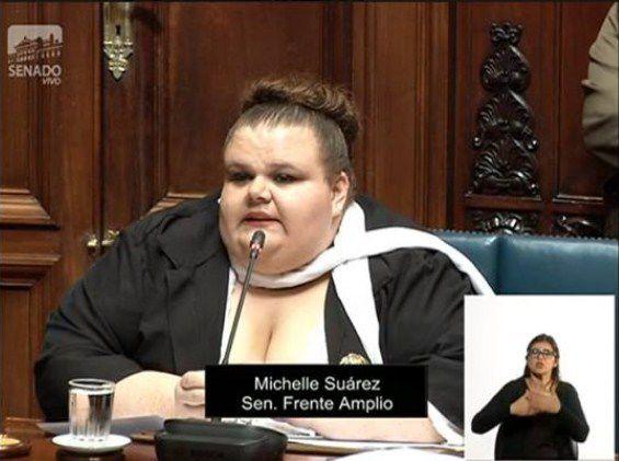 Asume en Uruguay primera senadora transexual