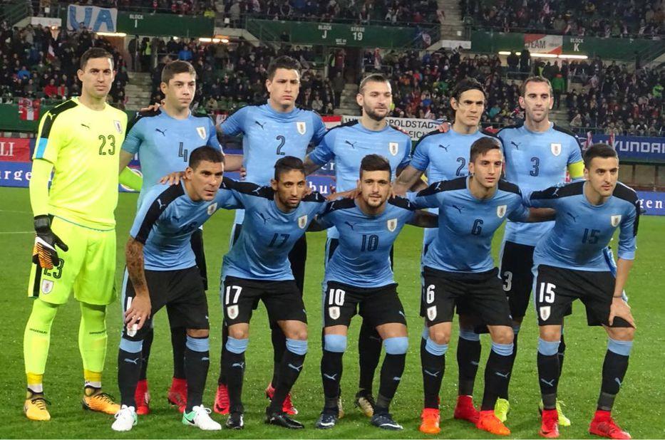 Resultado de imagen para seleccion uruguaya