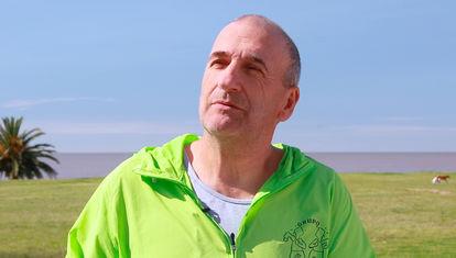 """Ariel Vázquez sobre correr: """"Es un movimiento natural, pero no es fácil"""""""