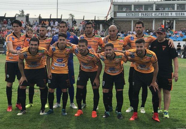 Sud América no entrenó como medida gremial. Foto: Prensa AUF