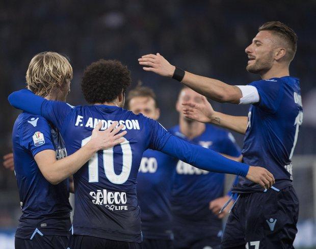 Lazio goleó y avanzó en la Copa Italia. Foto: EFE l MAURIZIO BRAMBATTI
