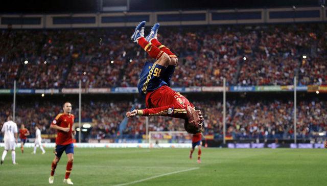 ¡Lo lindo del fútbol!