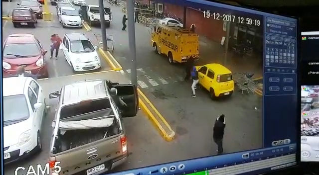 Espectacular asalto a un blindado