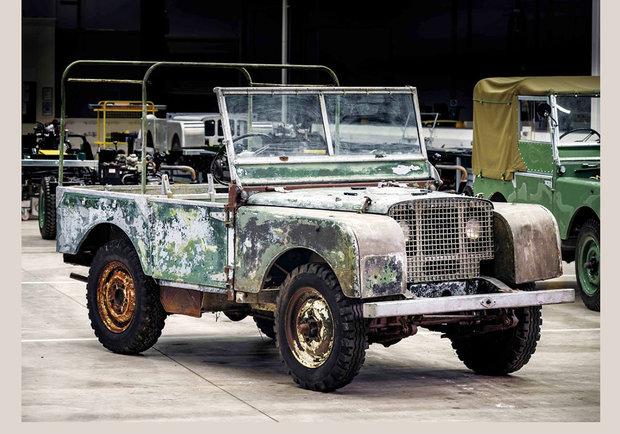 Primer Land Rover presente en el lanzamiento de la marca en 1948