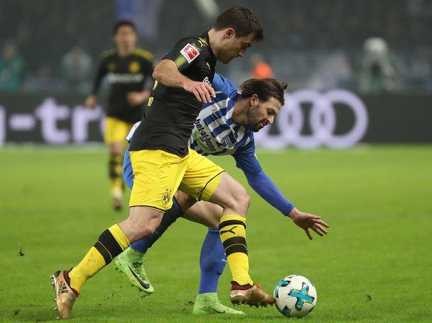 Borussia Dortmund rescató un punto ante el Hertha. Foto: EFE l SRDJAN SUKI