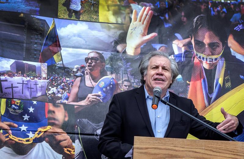 La dictadura no debe validarse con diálogo — Almagro