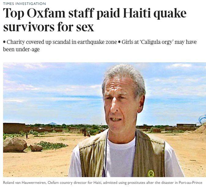 Con dinero de ONG, personal organizaba orgías
