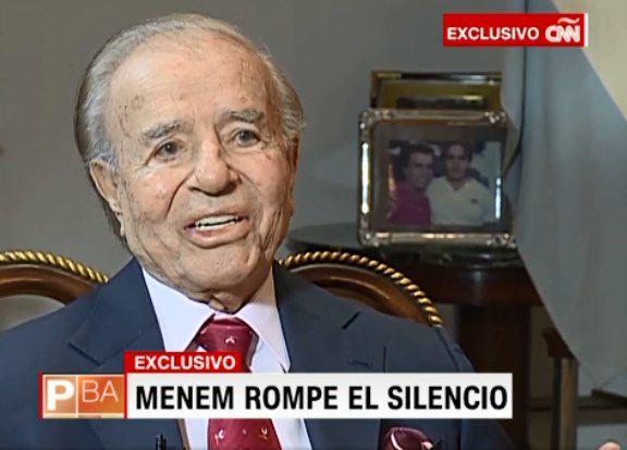 Carlos Menem: