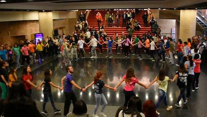 Un día para la danza: Prueba parcial de bachillerato artístico