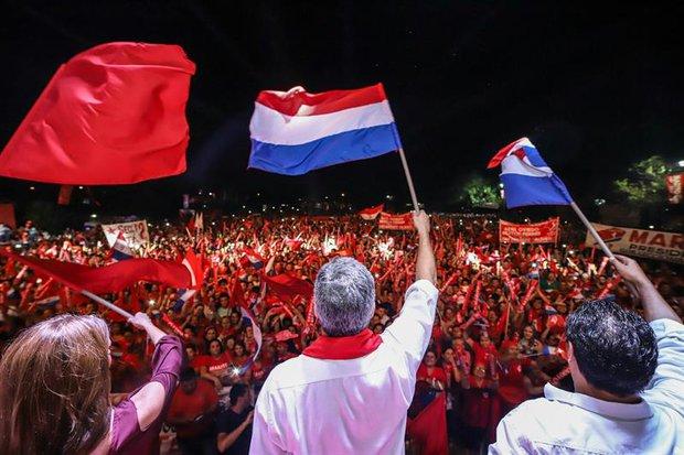 Acto final de la campaña de Abdo Benítez. Foto: Abdo Benítez