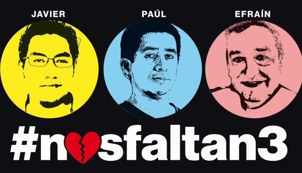 Expira ultimátum de Ecuador a secuestradores de periodistas