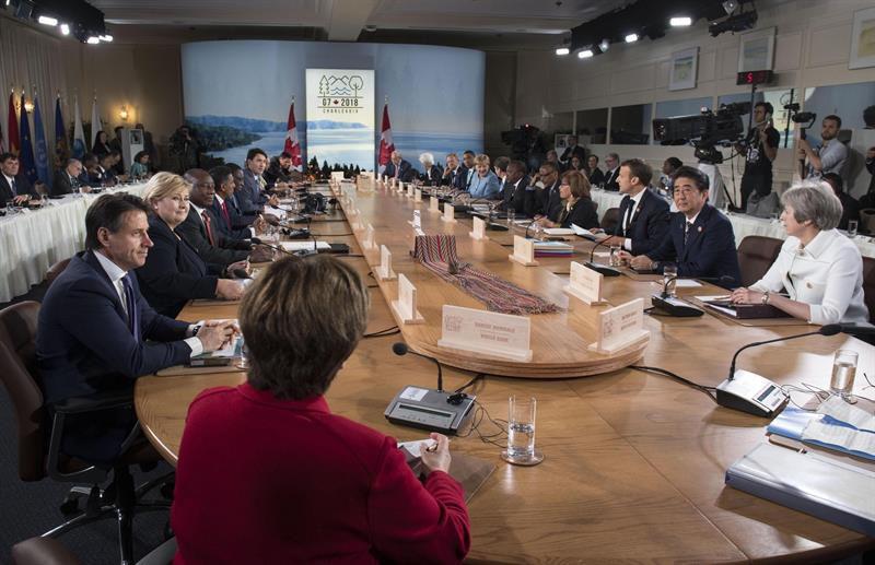 G7 termina con un