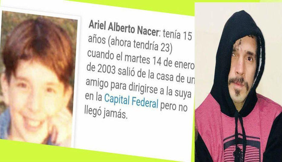 Encuentran en Lima a un joven argentino que desapareció hace 15 años