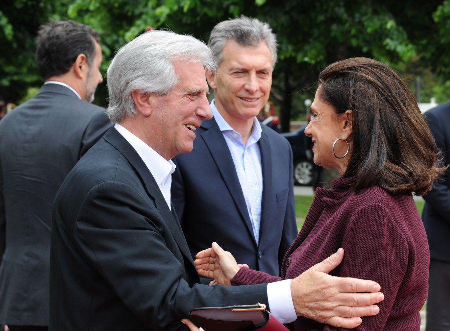 Macri habló de potenciar el futuro de Argentina y Uruguay