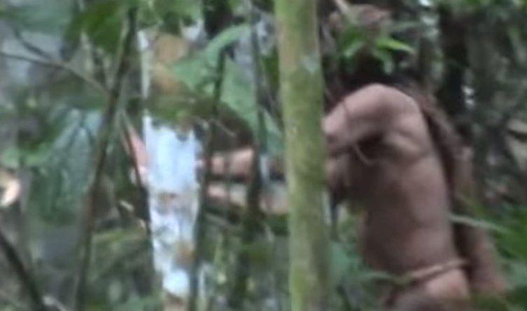 Impresionante video: El único sobreviviente de una tribu amazónica