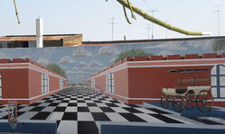 Contenido de la imagen Los murales de Rosario