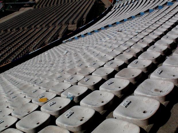 Tribuna del Estadio Centenario. Foto: Montevideo Portal (Archivo)