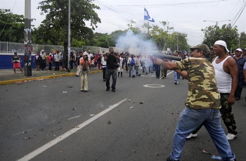 Se partió en Nicaragua