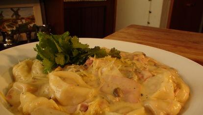 La Cocina Nacional: capeletis a la Caruso