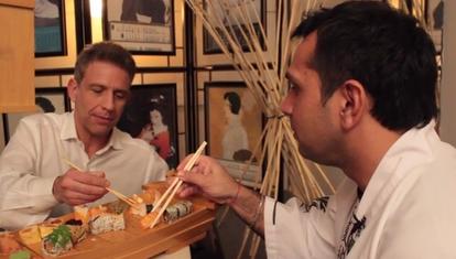 Muy rico todo: Sushi true