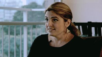CON FALDAS: Jana Rodríguez Hertz